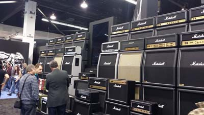 Anyone see the Marshall booth around here?