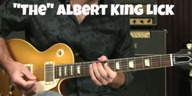 Blues Guitar Lesson - The Albert King Lick