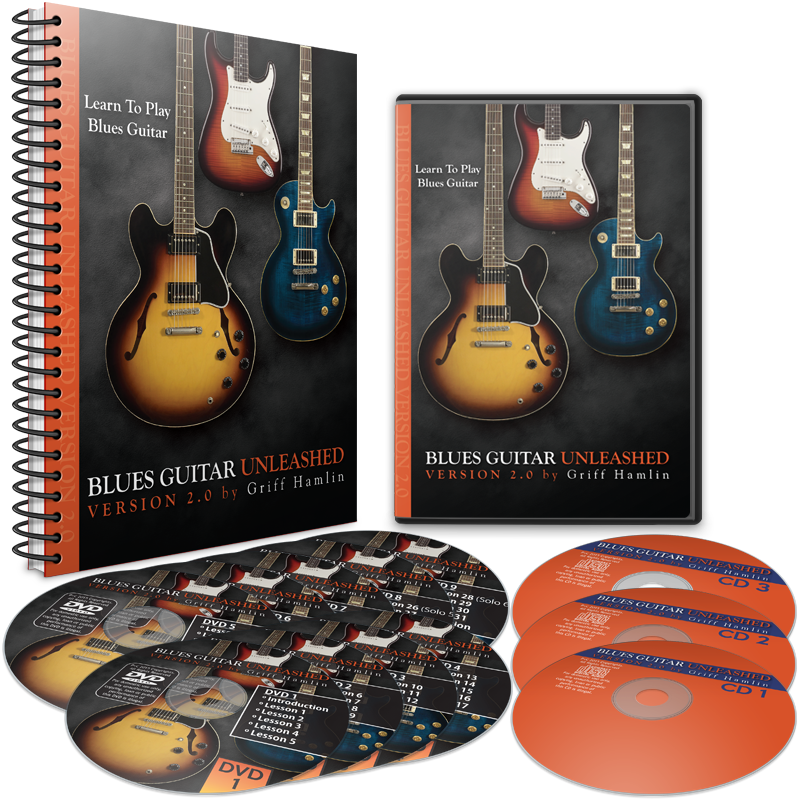 Blues Guitar Unleashed DVD Course
