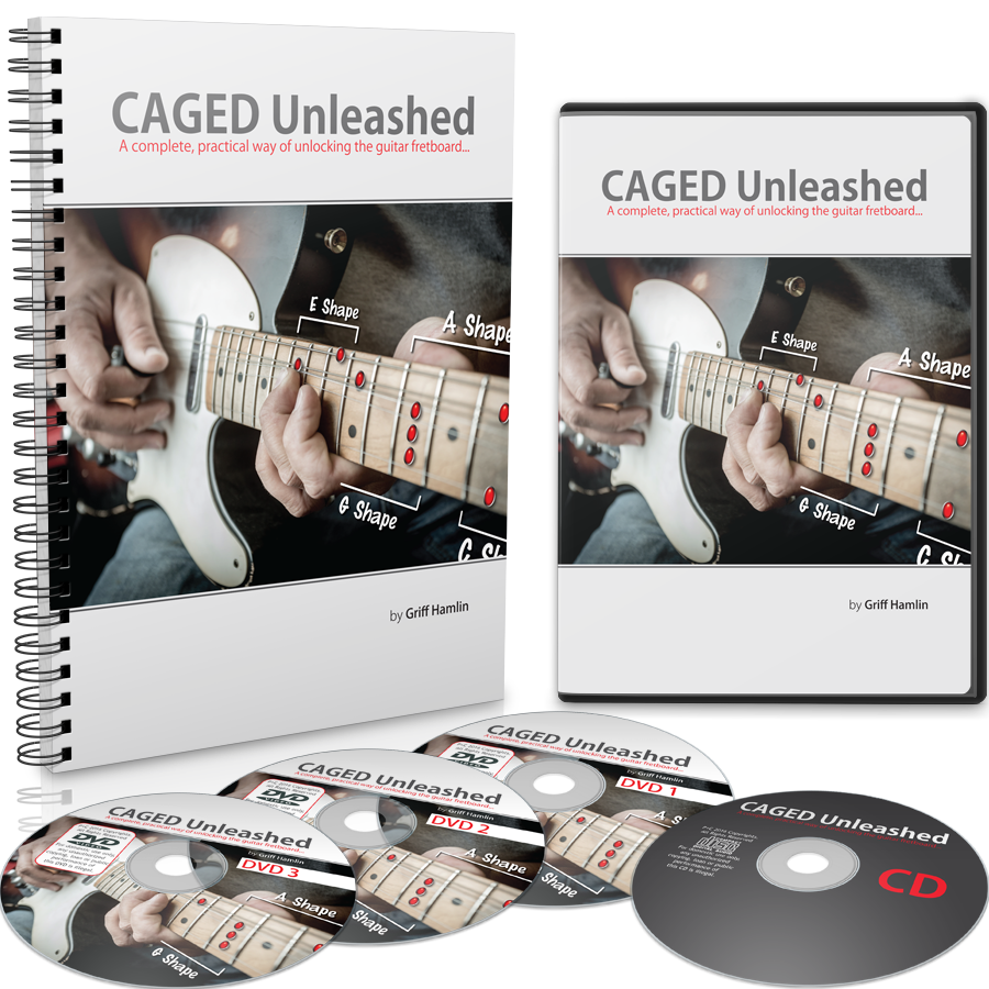 CAGED Unleashed Product Shot