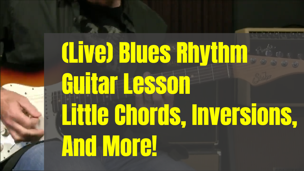More Little Chords & Inversions