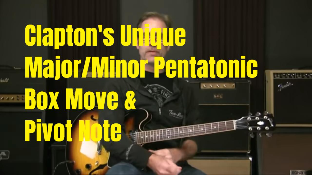 Clapton's Secret Move?