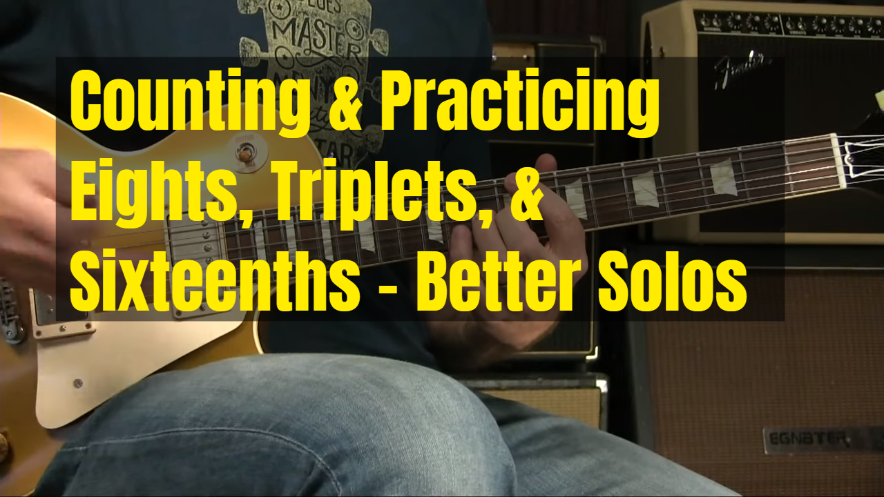 Practicing For Better Rhythm In Solos…