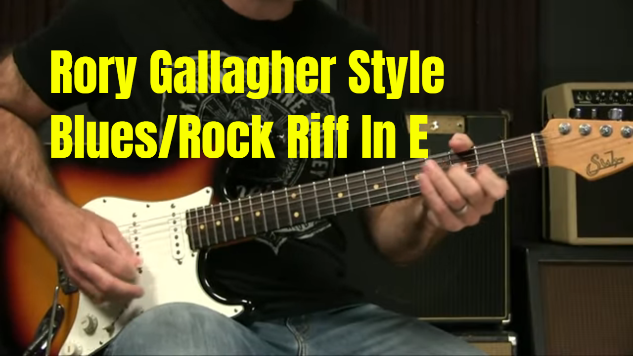 Rory Gallagher Blues Rock Riff