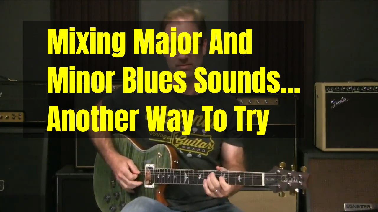 Mixing Major And Minor In 1st Position