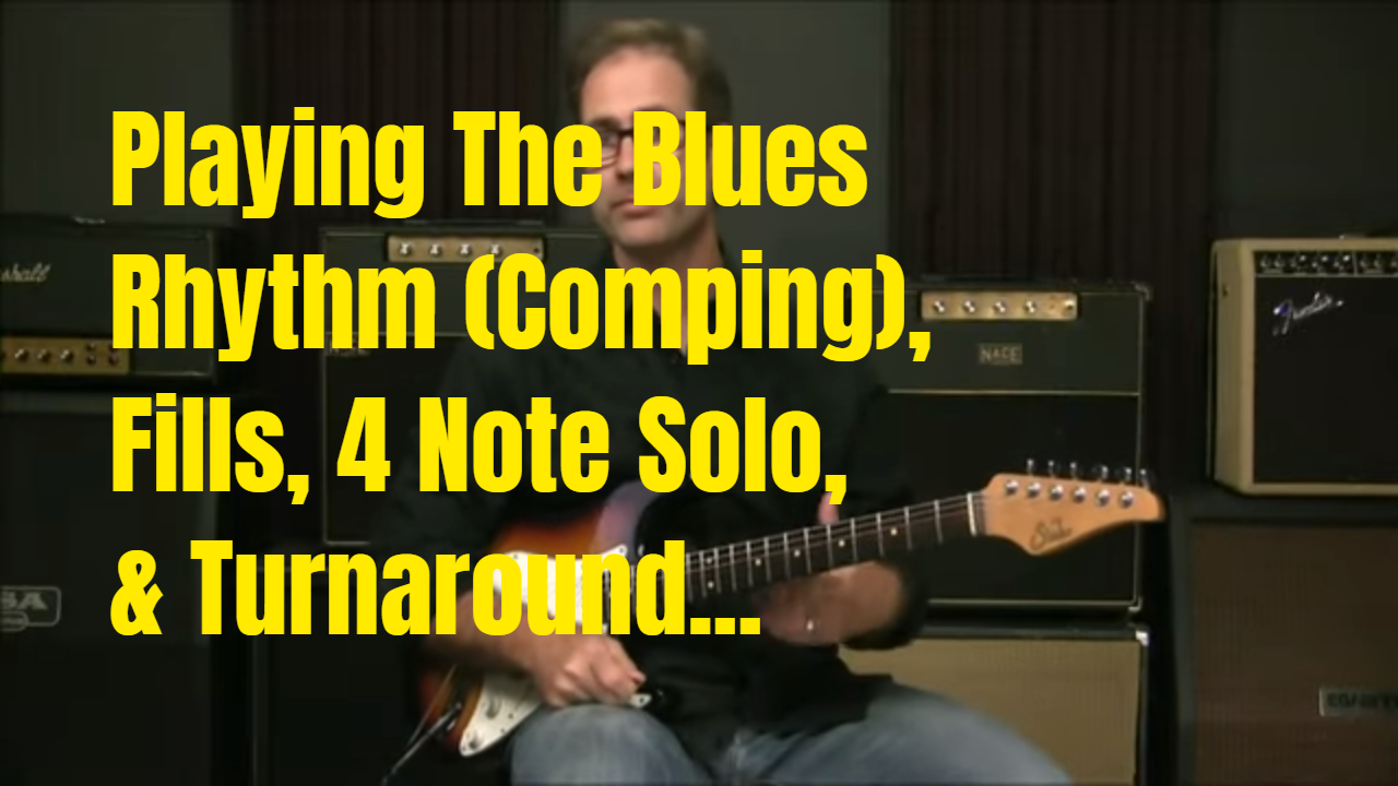 Playing The Blues In A Shuffle