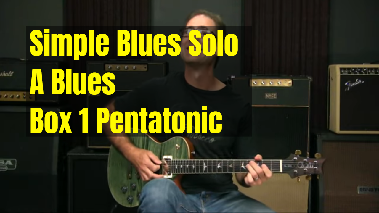 Simple Blues Solo For Beginners