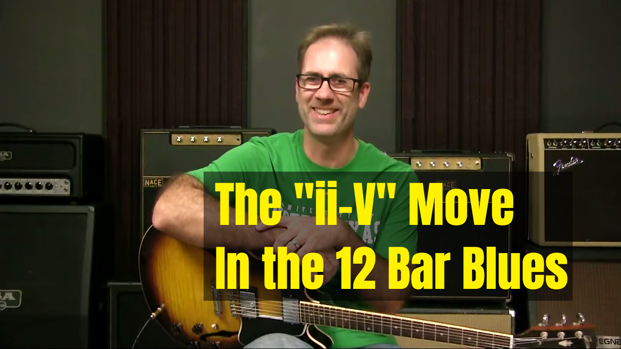 That ii V Move In A Blues…