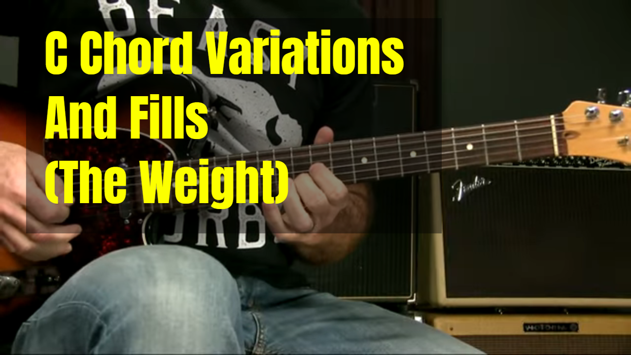 C Chord Variations And Fills