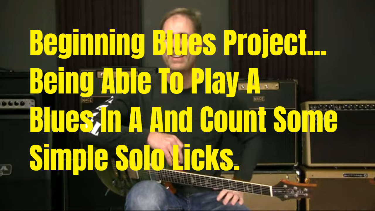 "A Beginning Blues ""Project"" For You"