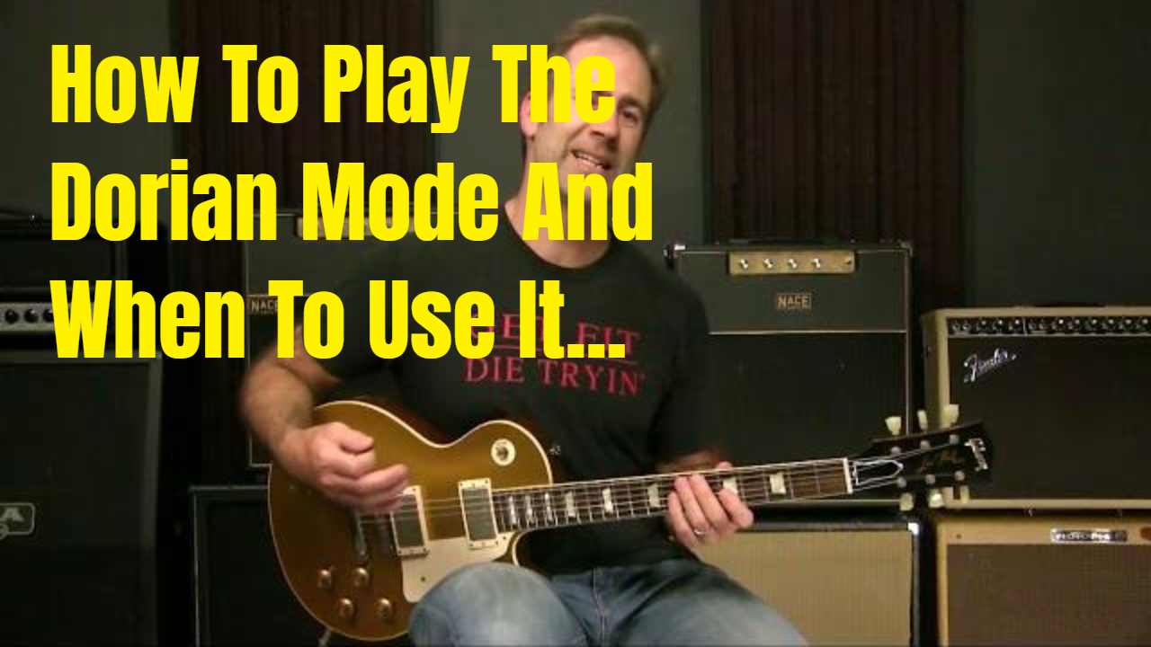 Using The Dorian Mode