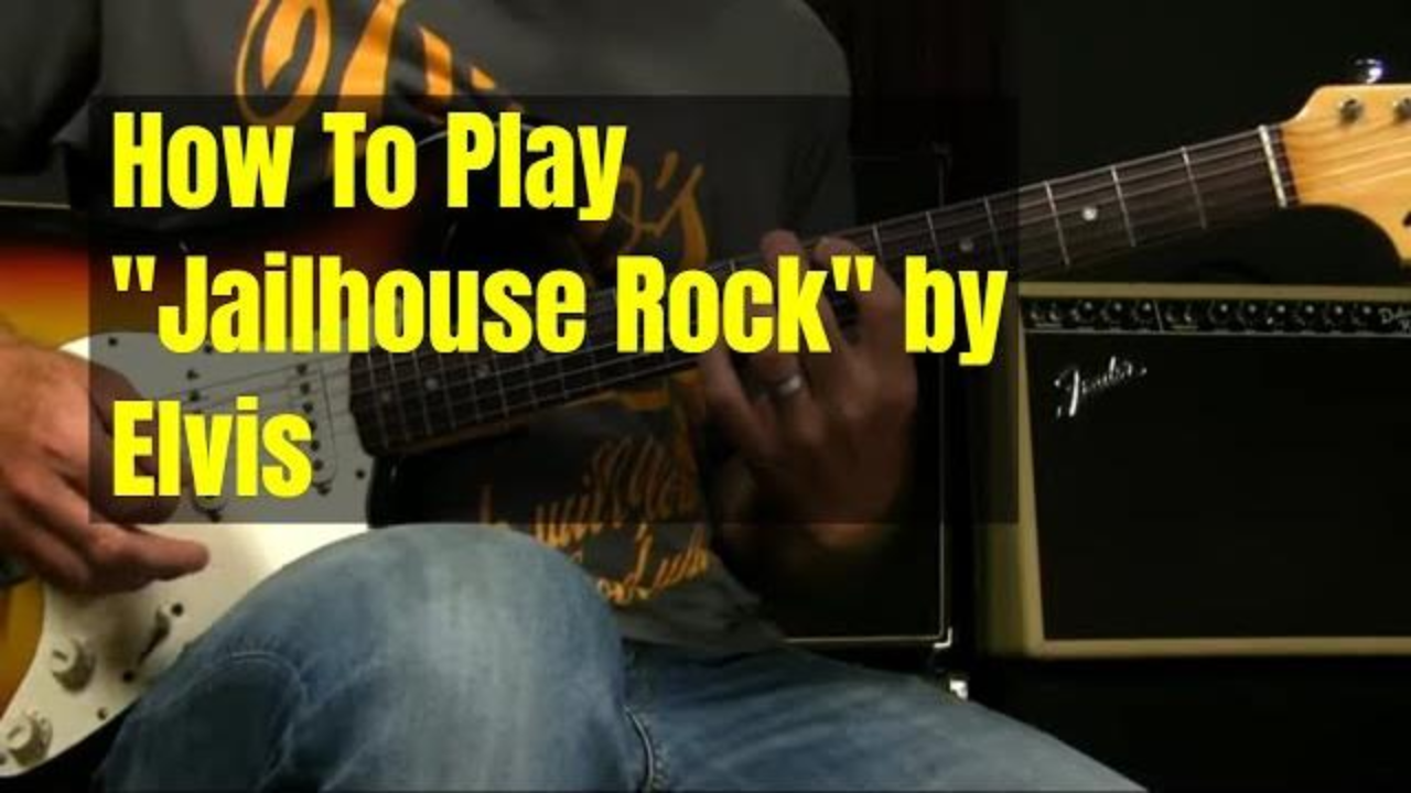How To Play Jailhouse Rock