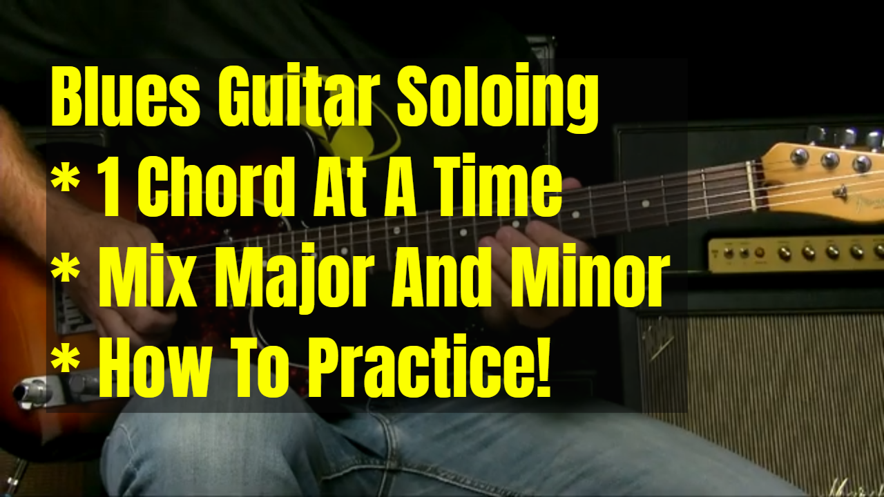 Blues Soloing – Mixing Sounds Over 1 Chord
