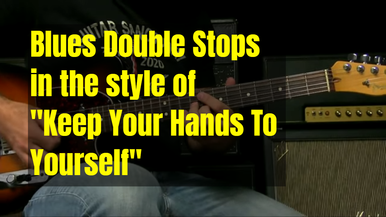 """Double Stops a la """"Keep Your Hands To Yourself"""""""