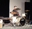 Drumtrucker Steve on stage BGU NE 2019 cropped.png